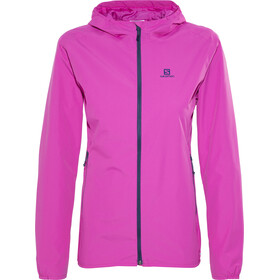 Salomon Essential Jacket Women Rose Violet